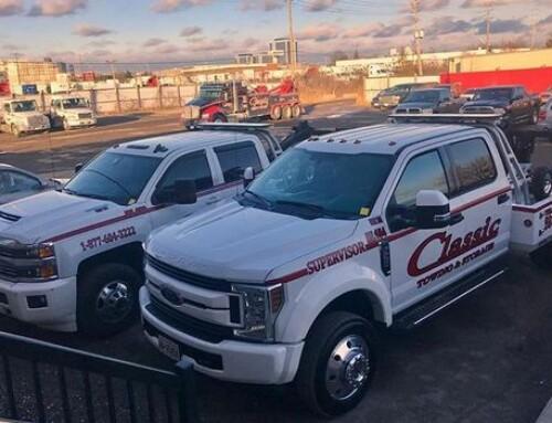 Charter Bus Towing in Hamilton Ontario