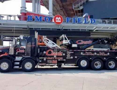 Utility Truck Towing in Ajax Ontario