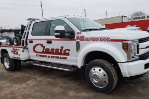 Utility Truck Towing in Barrie Ontario